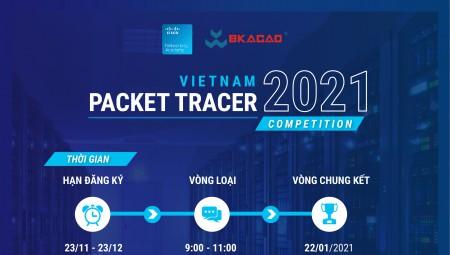 THÔNG BÁO CUỘC THI VIETNAM PACKET TRACER COMPETITION 2021