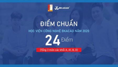 ĐIỂM CHUẨN VÀO HỌC VIỆN CÔNG NGHỆ BKACAD – BK-HOLDINGS – TRƯỜNG ĐẠI HỌC BÁCH KHOA HÀ NỘI NĂM 2020