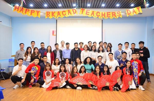 Happy BKACAD Teacher's Day 2018 – Lễ kỷ niệm 20.11 ấm áp tình thầy trò