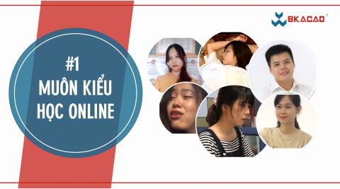 Muôn vàn kiểu học Online của dân IT